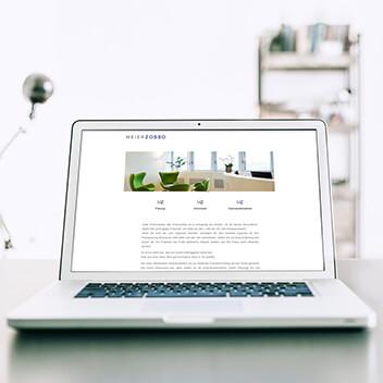 Website - Umsetzung für Meierzosso Planungs AG
