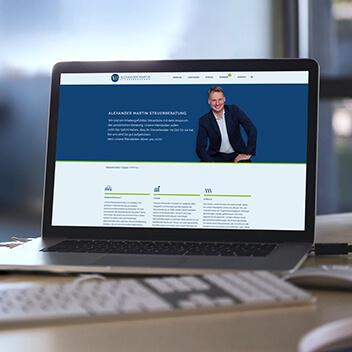 Beitragsbild - Website Steuerberater Alexander Martin