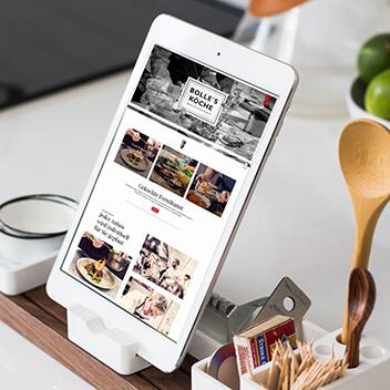 Webiste Entwurf und Umsetzung für das Cateringunternehmen BOLLES KÖCHE