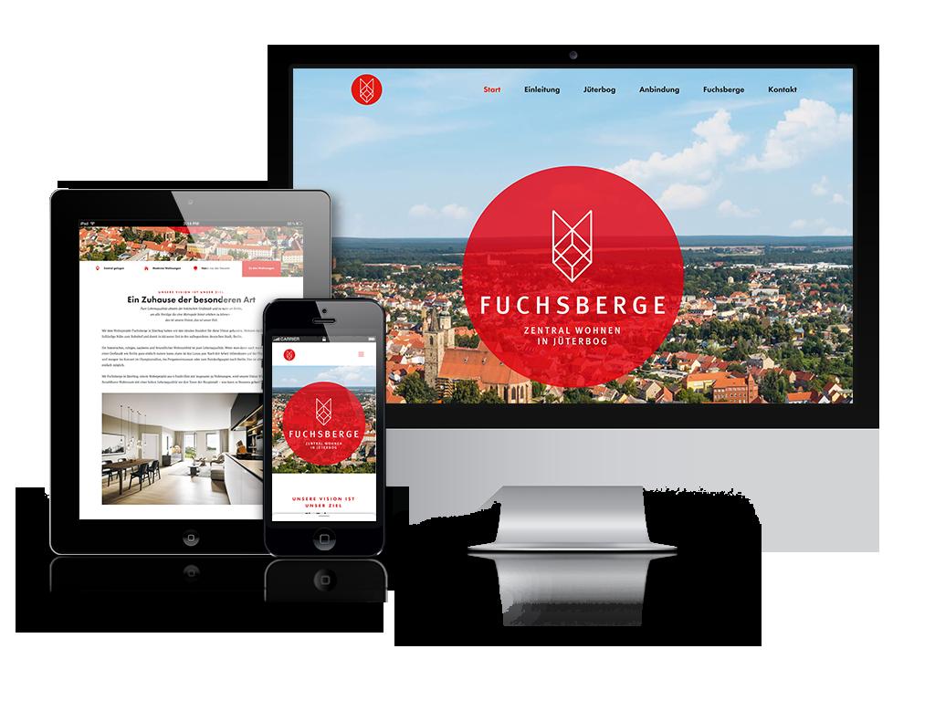 Webdesign Fuchsberge