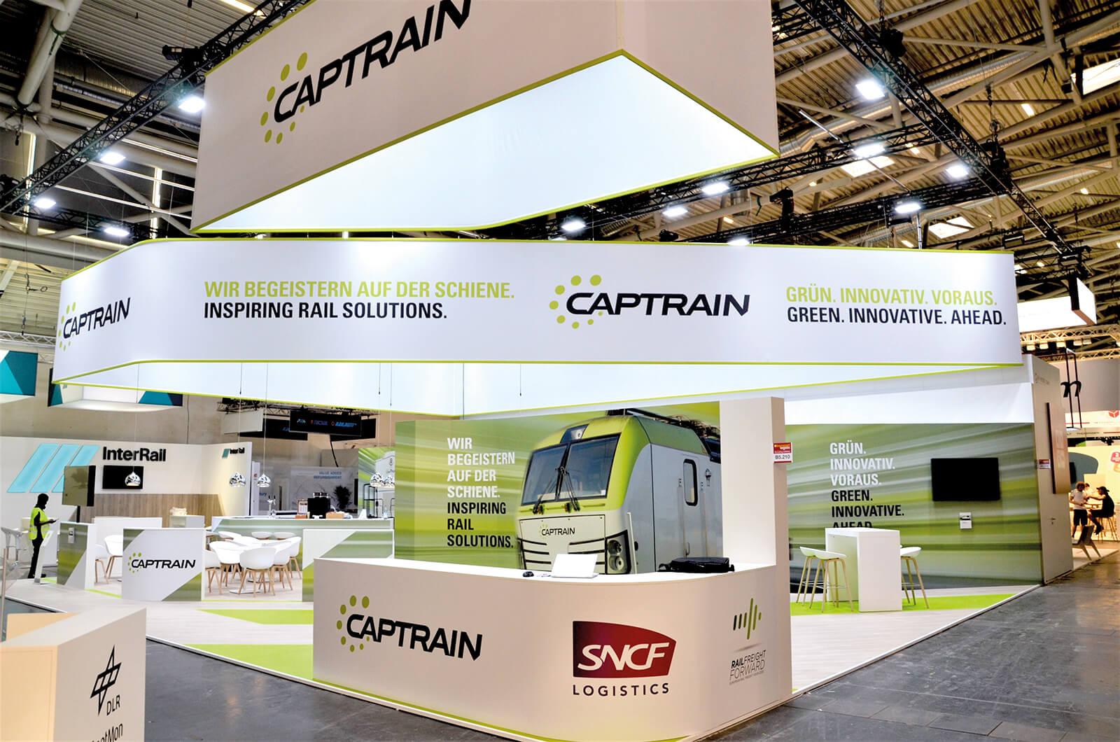 Captrain Messedesign