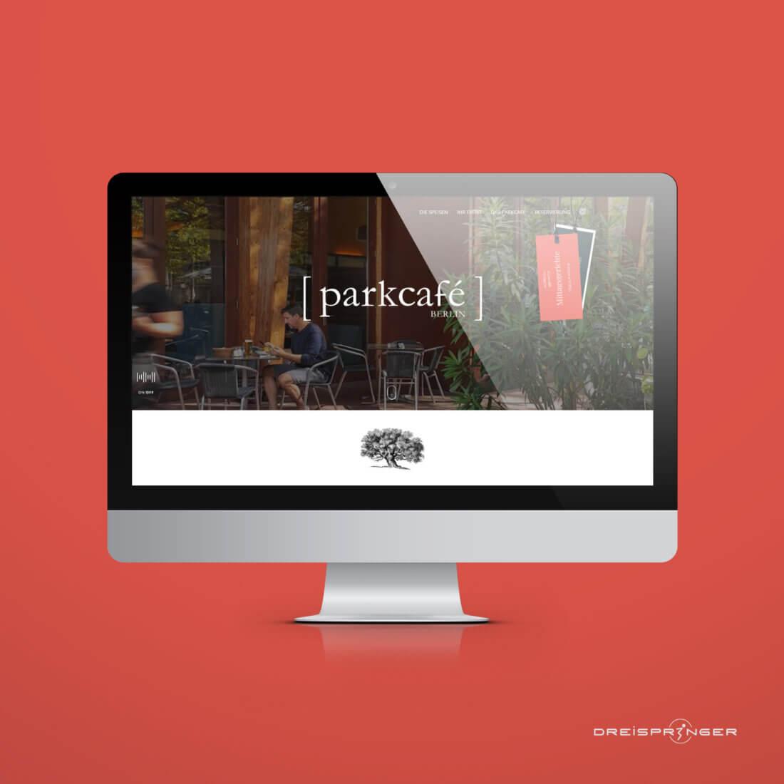 Website Redesign Parkcafé