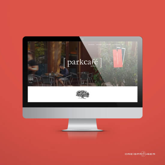 Website Redesign Parkcafé